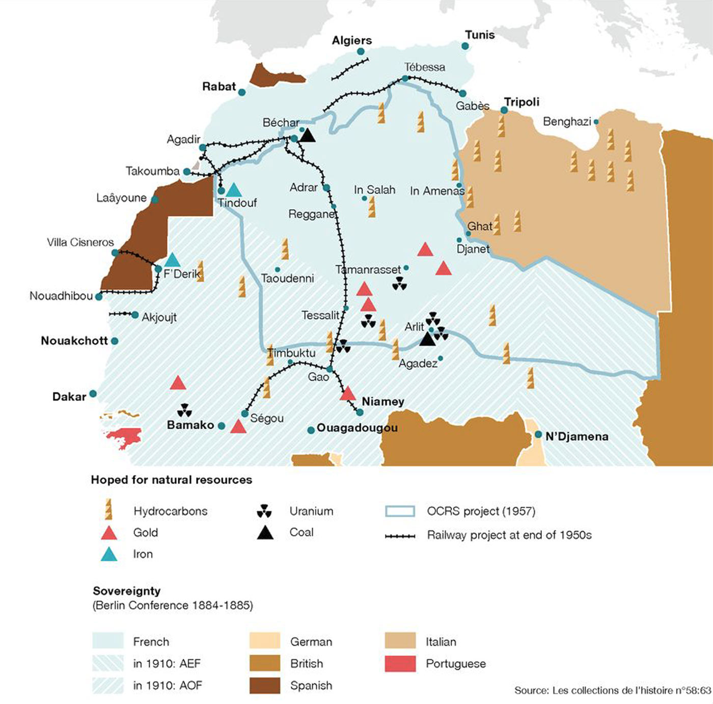 natural resources west africa map