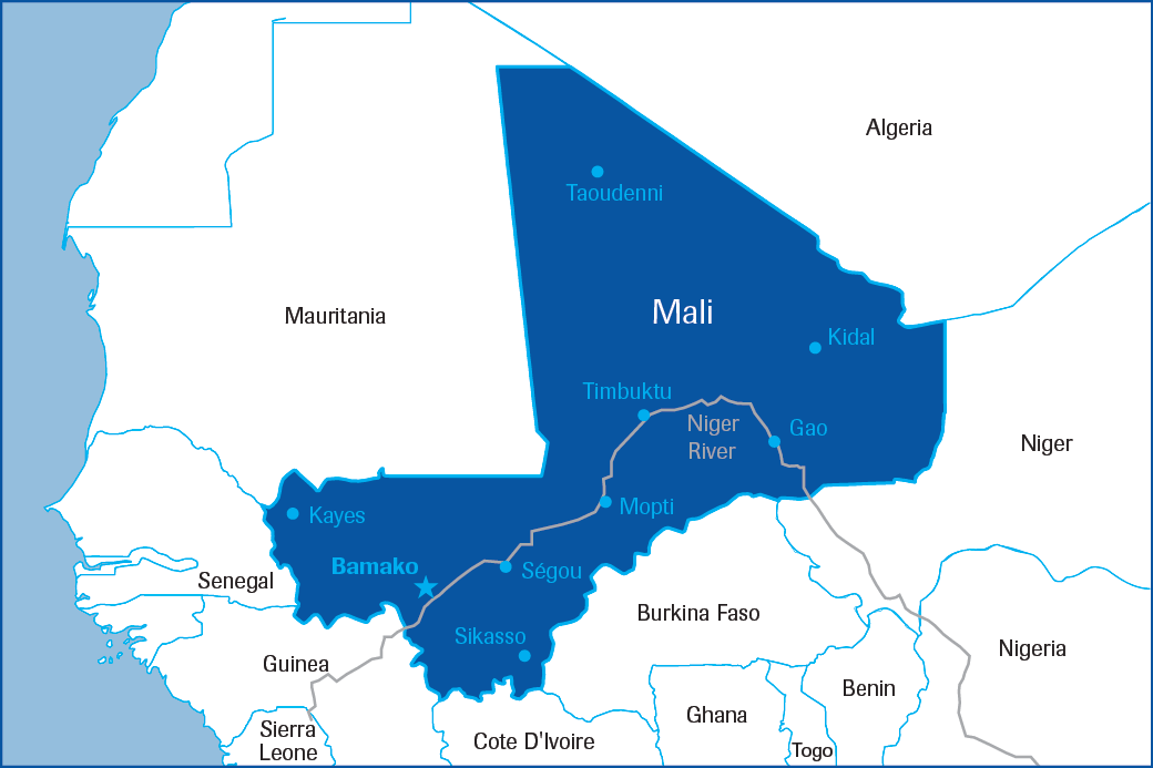 An overview of the underdeveloped country of mali