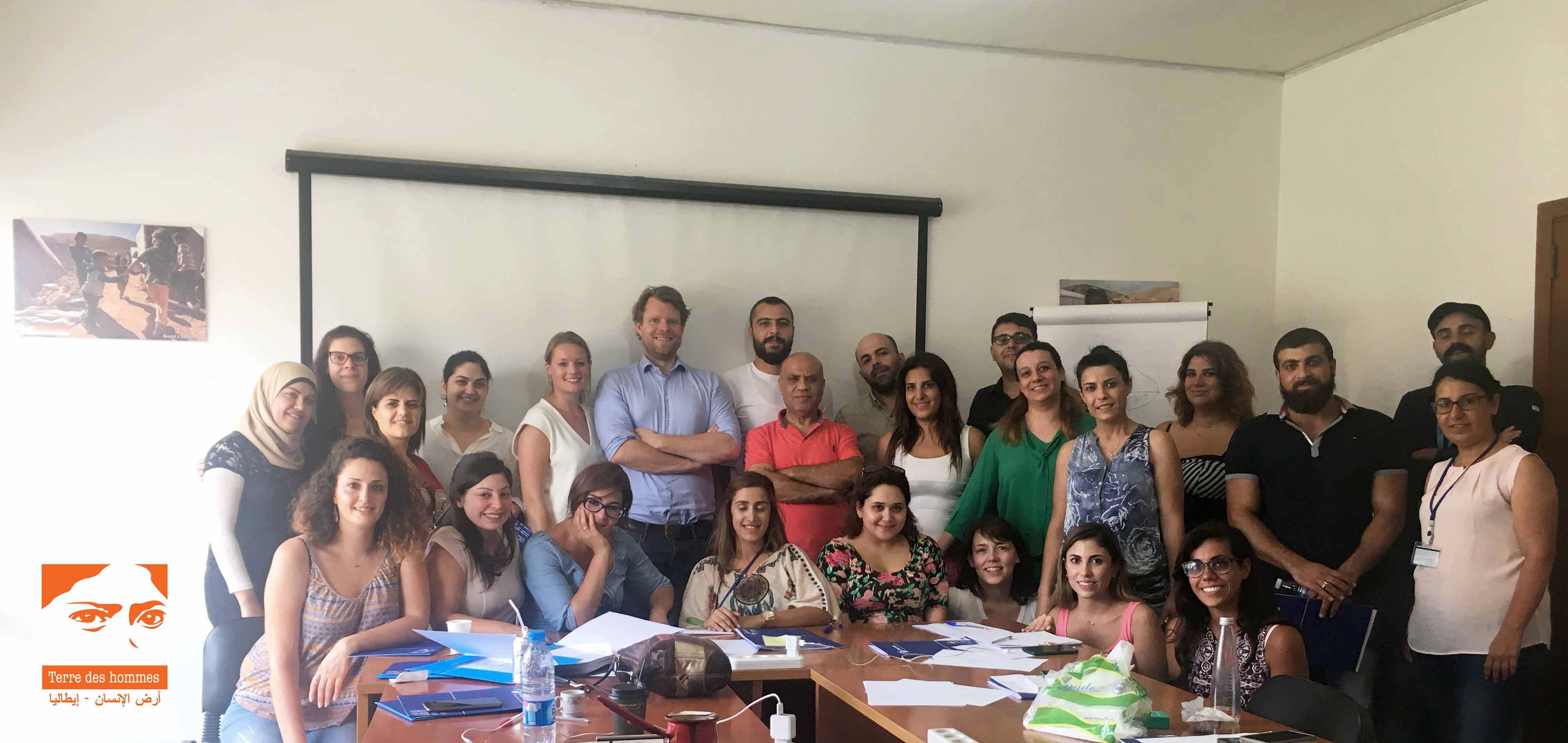 Humanitarian Negotiations Training in Beirut with Terre des Hommes and local partner Nabaa (2 August 2017).