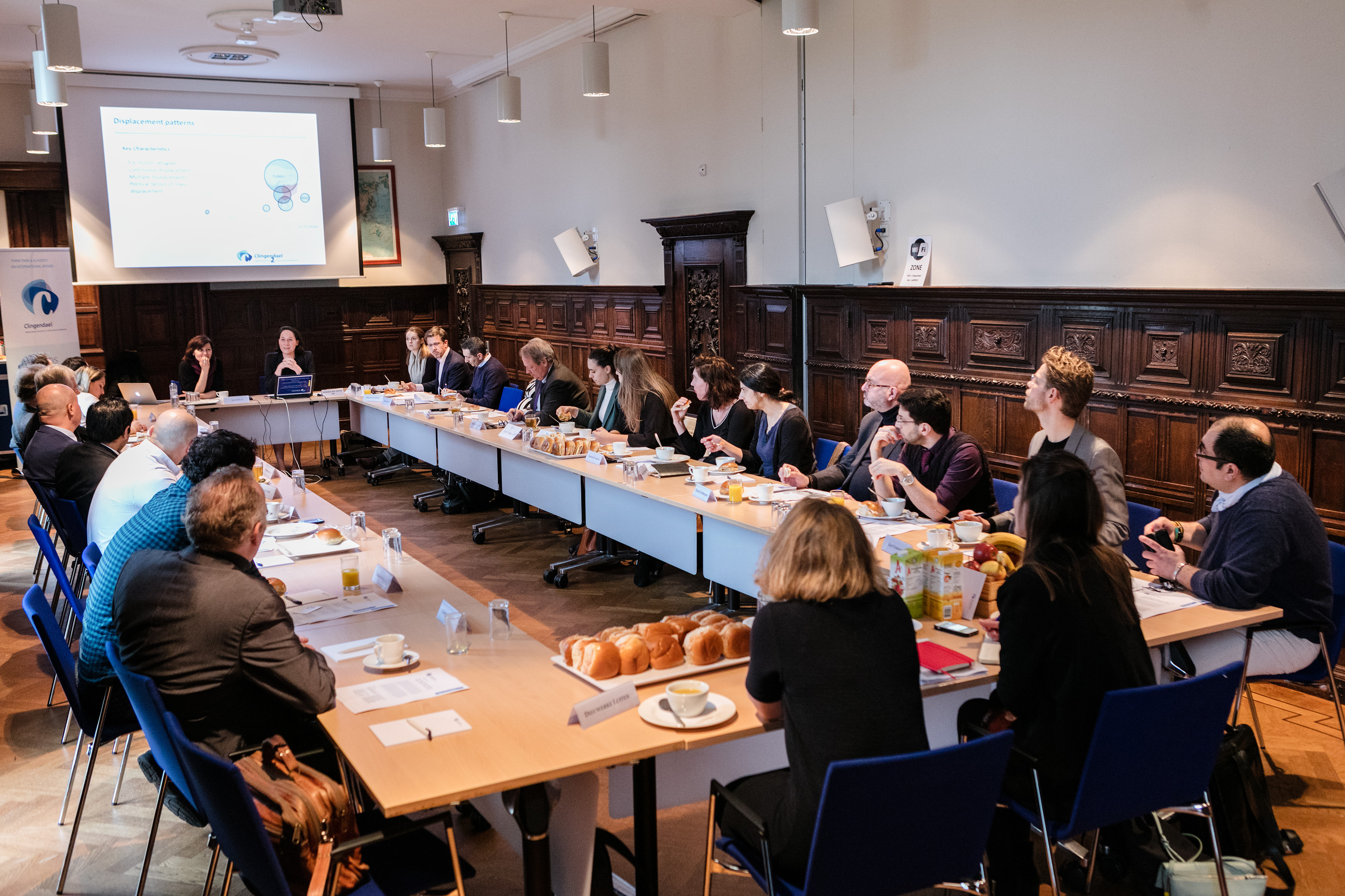 Clingendael lunch debate Syria on civil war participants