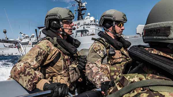 Political motives rather than military requirements triggered the launching of Operation Sea Guardian in 2016. Photo NATO, Jake Tupman