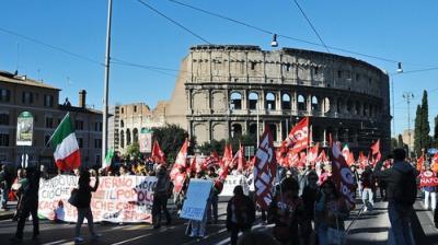 The Italian vision on a social Europe: political integration