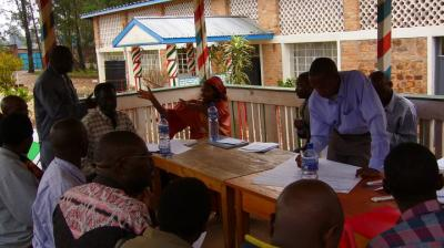 Community-based approaches in conflict-affected states