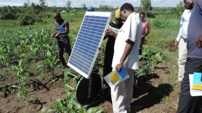 A 'green' trajectory of economic growth and energy security in Kenya?