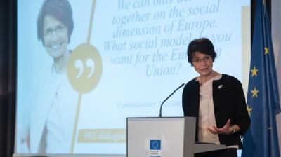 Een debat over de toekomst van sociaal Europa