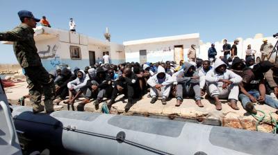 Mensensmokkelnetwerken in Libië onder de loep