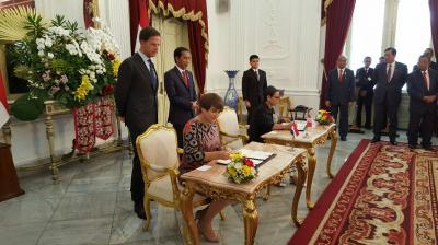 Renewed cooperation on diplomatic training with Indonesia