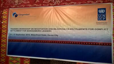 Bangsamoro Inside Mediators: towards sustainable peace