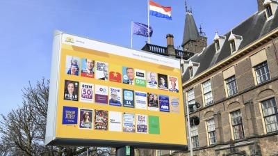 A Dutch election campaign in splendid isolation