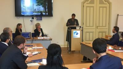 ICC Prosecutor addresses newly posted diplomats