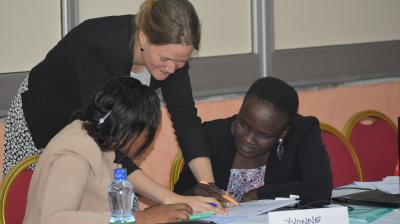 Training young women leaders in the Horn of Africa