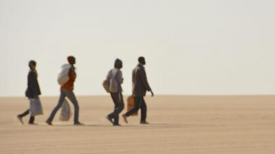 The impact of EU migration policies on central Saharan routes