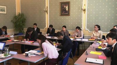 Training regional cooperation in the Central Asian region