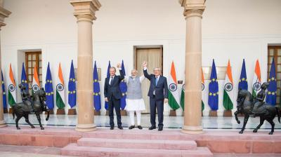 EU-India cooperation and China's Belt and Road Initiative