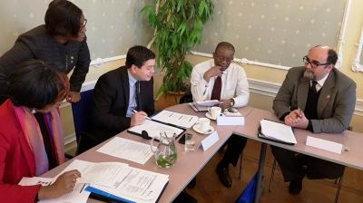 OAS Senior Diplomats in training at Clingendael