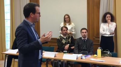 Clingendael intercultural skills training for Swedish diplomats