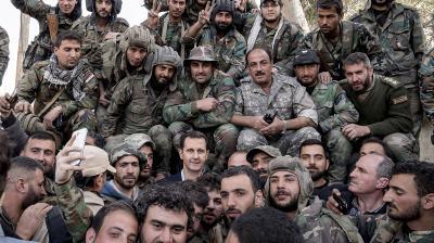 Six scenarios for pro-regime militias in 'post-war' Syria