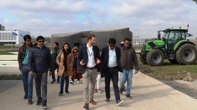 Diplomats from Bangladesh share water management experience