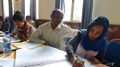 Looking to the future: scenario building in Ethiopia