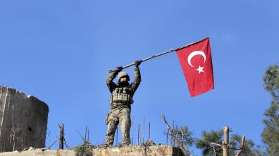 Turkey in northwestern Syria