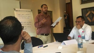 Negotiation training in Djibouti for humanitarian aid workers