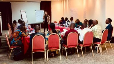 Negotiation skills training for aid workers in Great Lakes Region