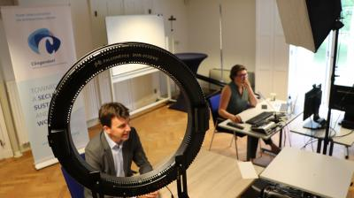 Dutch Security policy officers engage in online training