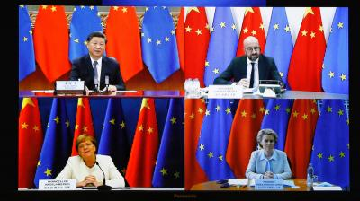 EU should not rush investment deal with China