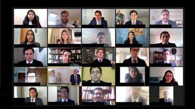International Negotiations Training for Peruvian Diplomats